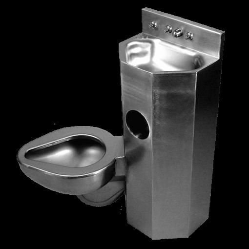 "15"" Wide Combination Lavatory/Toilet Units"