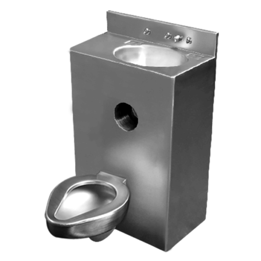 """Willoughby 2096-Series 20"""" Offset Toilet Combination Lavatory Toilet is a single-user fixture."""