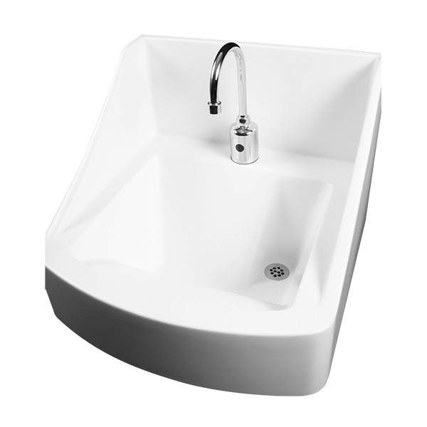 Superbe WICS 2222 Infection Control Hand Washing Sink A.D.A. Compliant