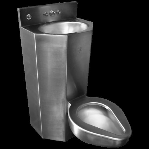 "18"" Wide Combination Lavatory/Toilet Units"