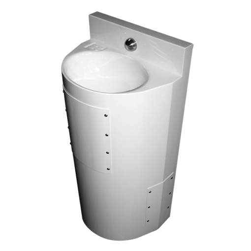 "Willoughby Ligature-resistant, Front Access, 18"" Lavatory ASHS-1013- 06-FA"