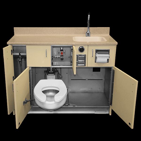 Wh 1700 Series Swivel Toilet Patient Care Unit