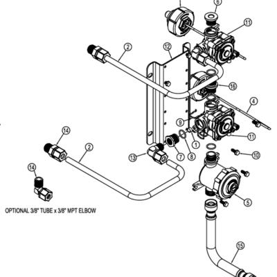 PML12 - PML12 Manifold Valve Breakdown