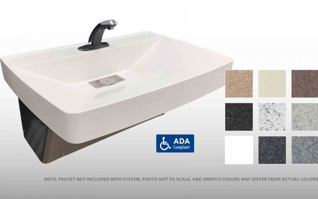Envy Series Single Station Solid Surface Lavatory