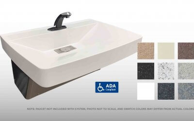 Willoughby Introduces the Envy Series Single Station Solid Surface Lavatory